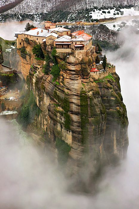 Meteora,Thessaly,Greece