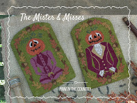 The Mister & Misses Punch Needle Pattern $14.00