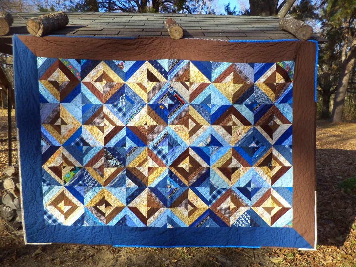 Kat Cat Quilts The First Scrappy Strings Quilt