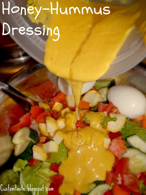 Honey-Hummus Dressing by Custom Taste