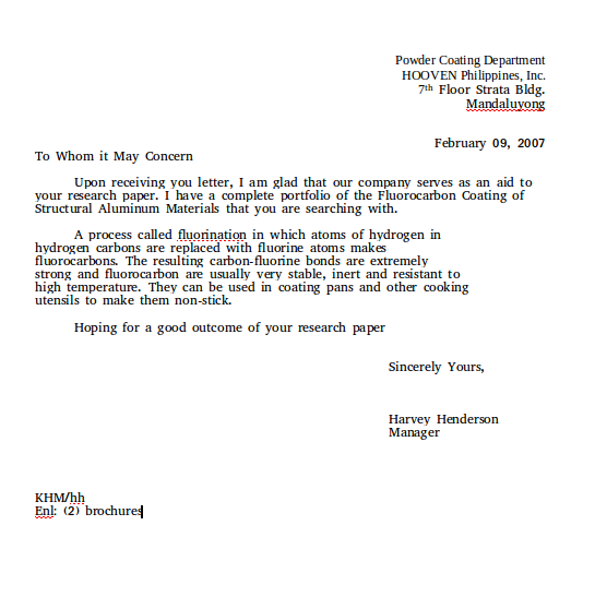 Social And Culture Letter Part 2