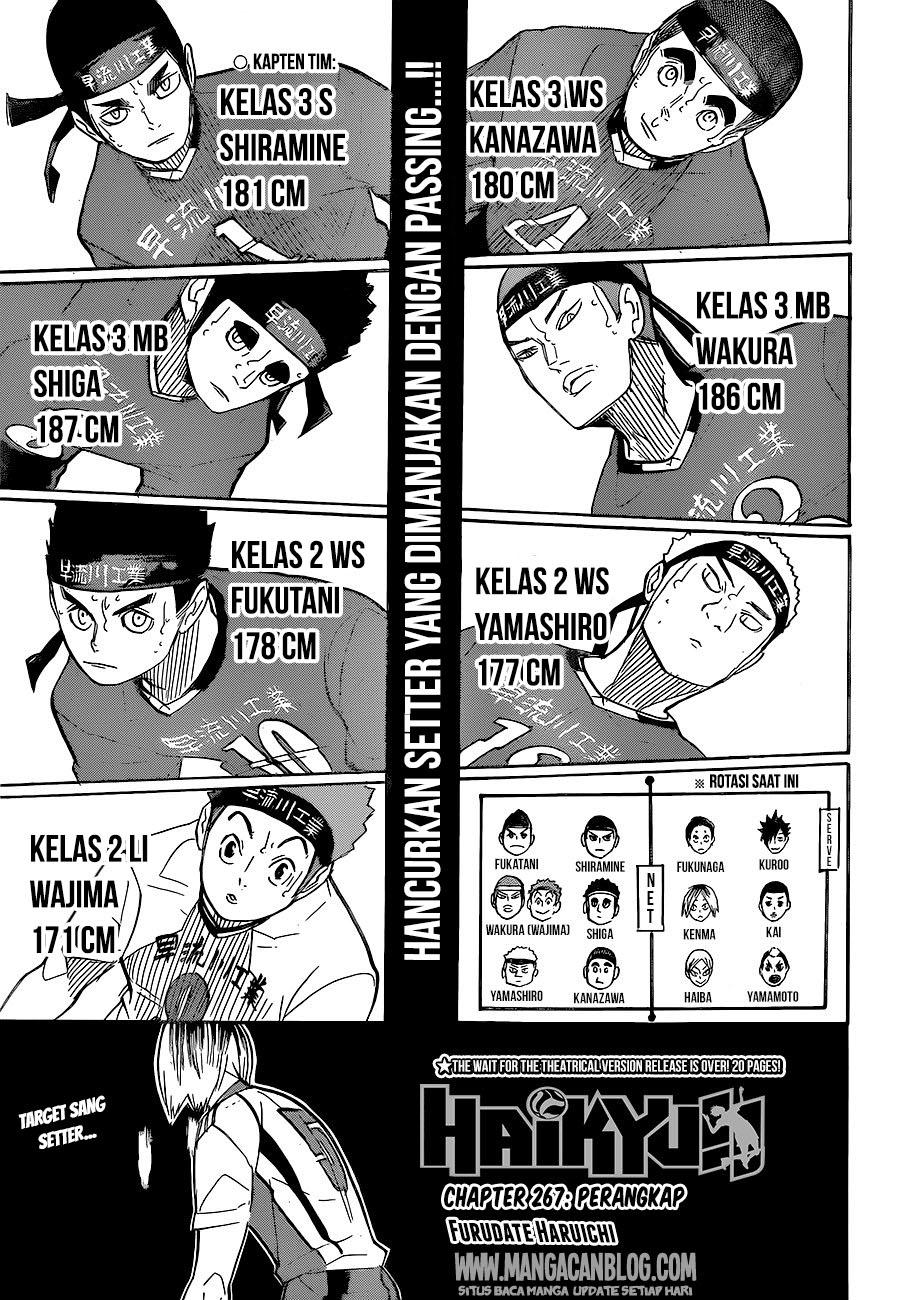 Haikyuu!! Chapter 267-1
