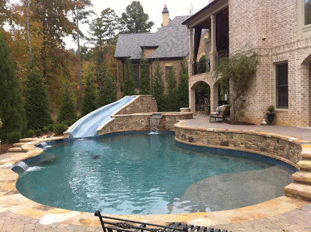 Backyard oasis pools free form pool st marlo for Garden oasis pool