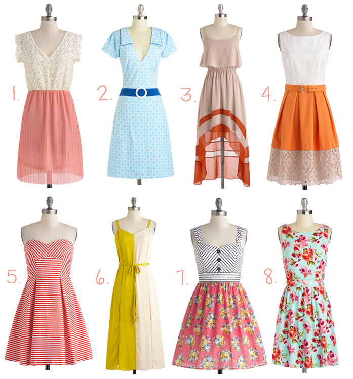 Welcoming Spring Dresses