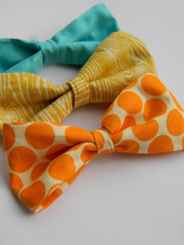 A simple fabric bow tutorial simply homemade