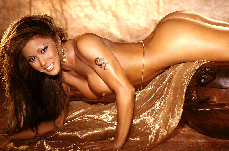 Kiana Tom Of Espn S Fle Appeal Playboy Spread
