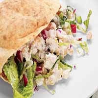 Weight loss recipes : Mediterranean Salad Pita