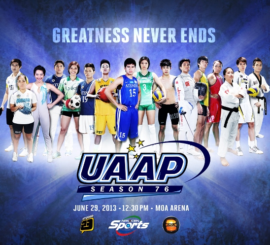 2013 UAAP 76 Live Streaming online- Where to watch - PML