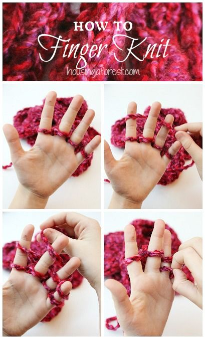 Finger Knitting Tutorial : And then we all had tea my friday finds