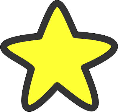 soft edge yellow star