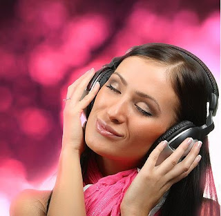 listening to a relaxing music can make you put into sleep