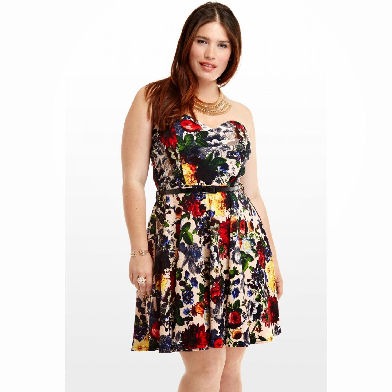 vestidos de cctel para gorditas moda