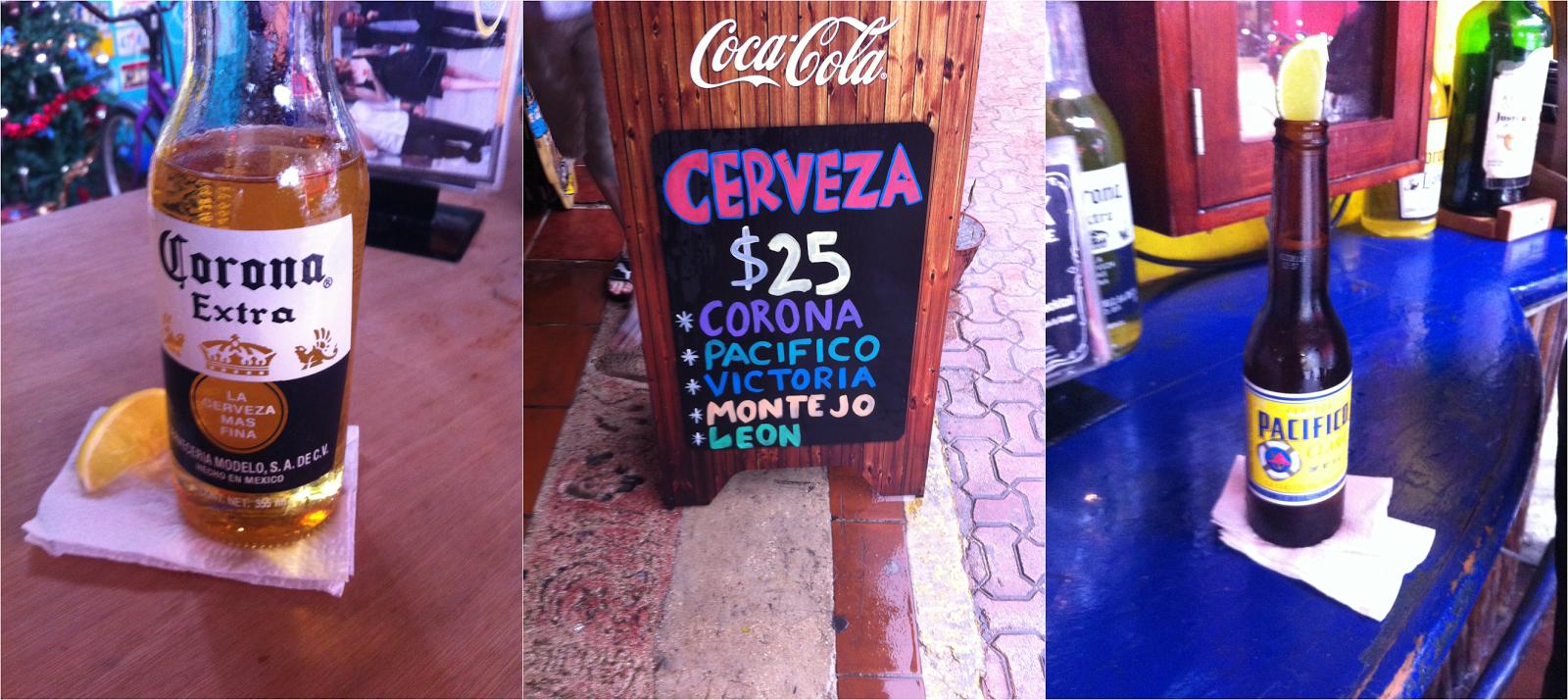 Playa Del Carmen, México, Caribe, playa, cerveja