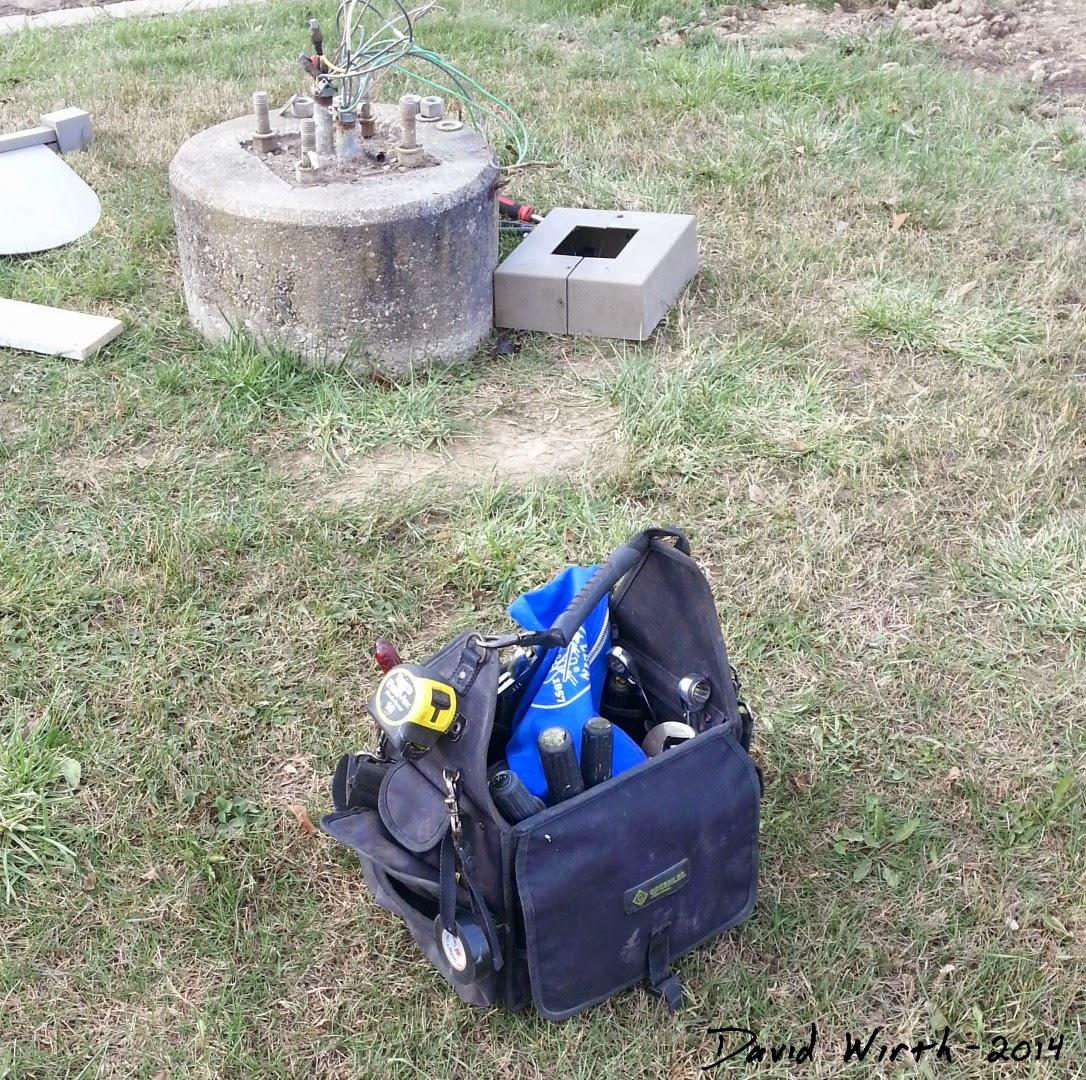 cloth tool bag, case