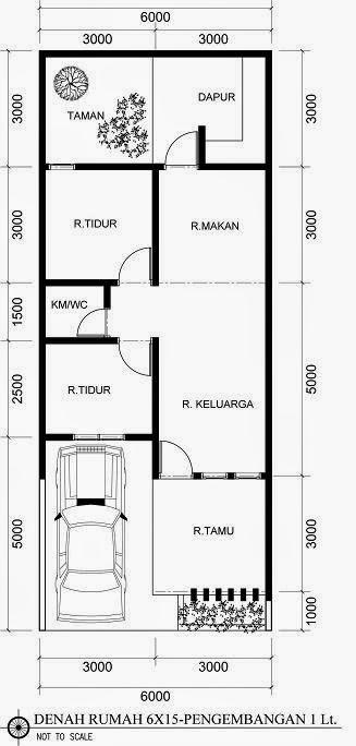 Desain Rumah Minimalis 1 Lantai Lengkap