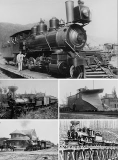 ретро фото железная дорога