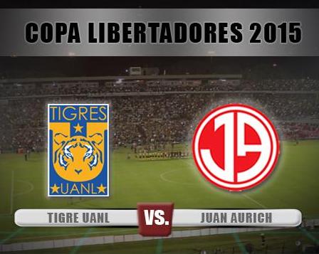 Juan Aurich vs Tigres en vivo Copa Libertadores trasmision internet online