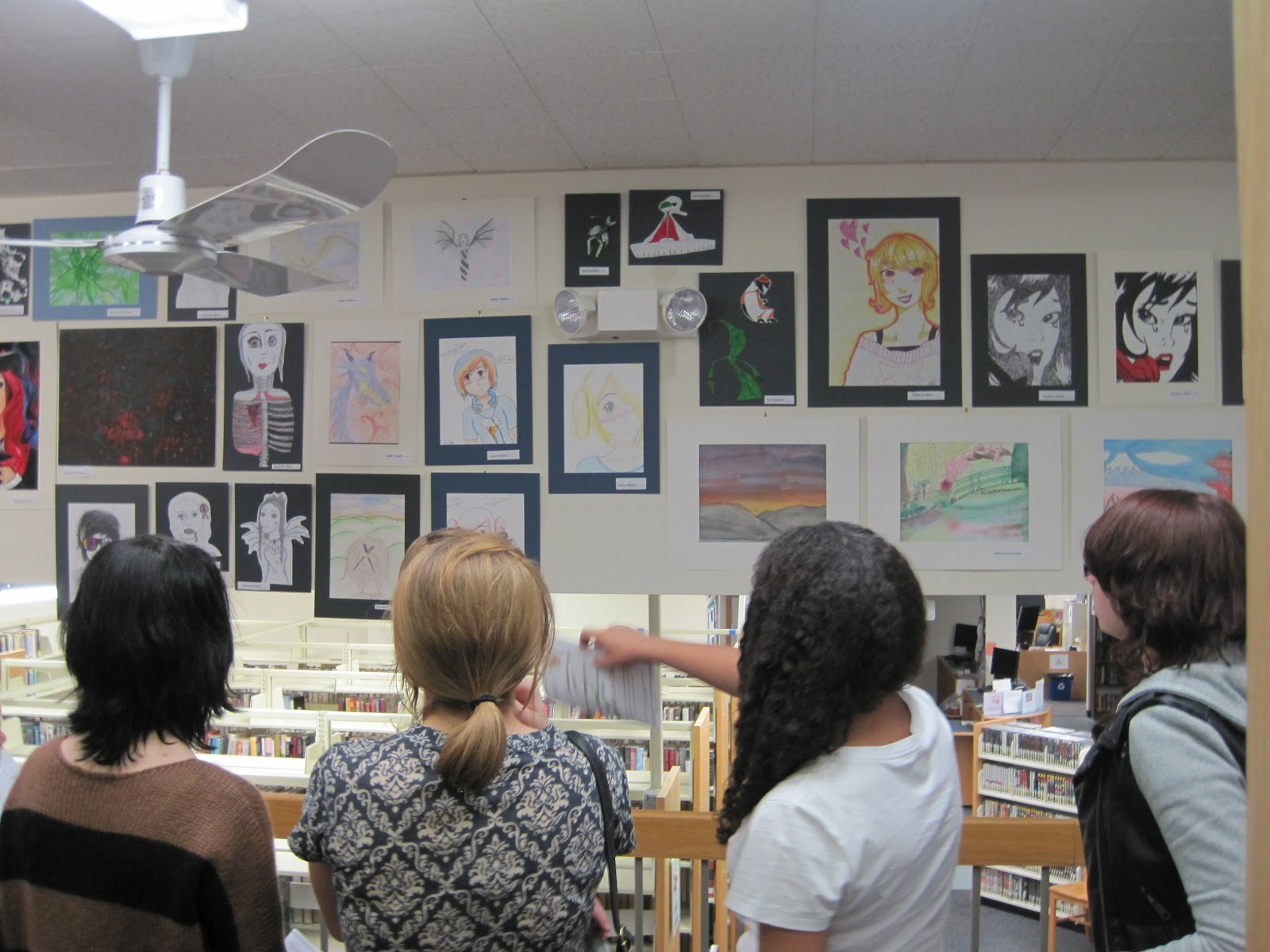 An Evening of Art Appreciation in the Teen Place
