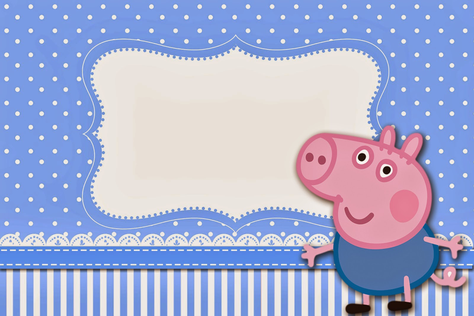 George Pig Free Printable Invitations Is It For Parties Is It
