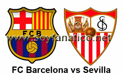 Barcelona vs Sevilla 2014