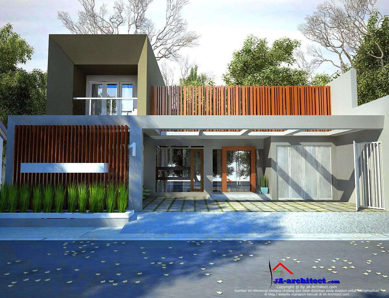 gambar arsitek rumah modern madiun