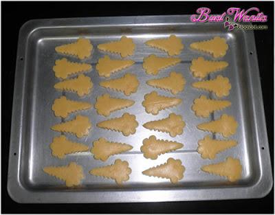 Resepi mudah dan cara buat biskut raya. Biskut ais krim sedap rangup