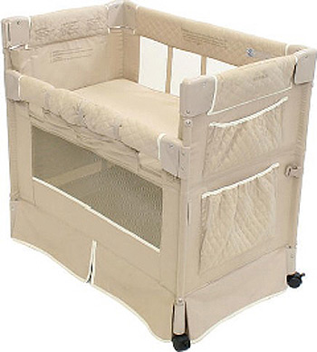 Bassinet Attached To Bed8