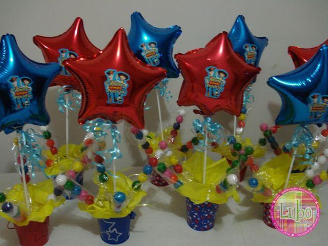 MuyAmeno.com: Centros de Mesa Toy Story, parte 1