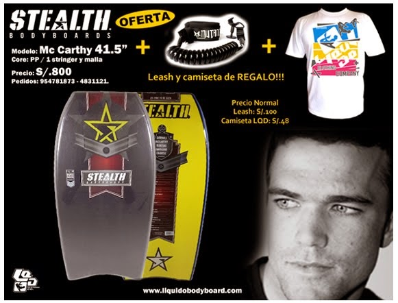 OFERTA STEALTH BODYBOARDS!!!