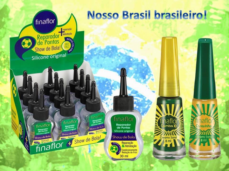 Esmaltes Fina Flor Coleção Creamy Sand para a Copa 2014
