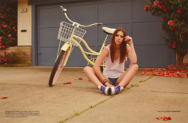 Aspen Maye - Cast Images Model - Chaos Magazine - Rees Herrick