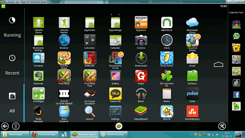 BlueStacks Hd App Player Pro v1.1.11.8004 Rooted