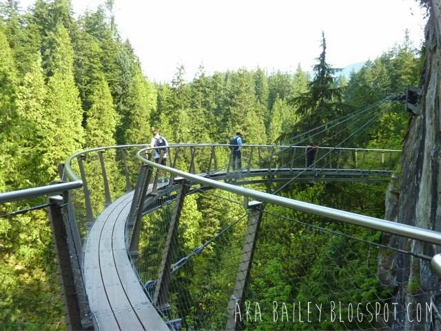 Capilano Suspension Bridge Park, Cliff Walk