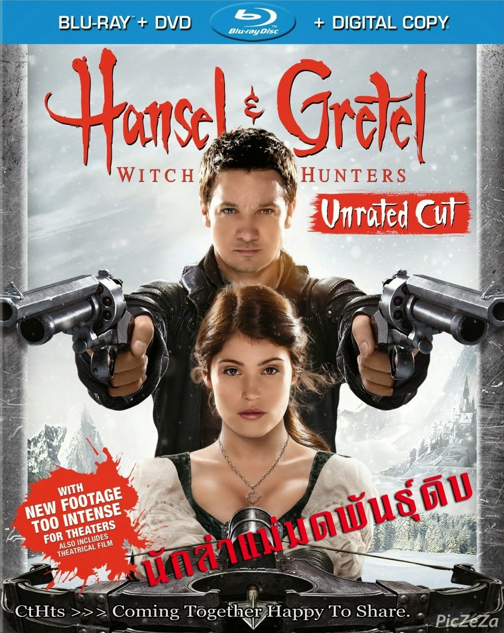 Hansel & Gretel Witch Hunters 2013 นักล่าแม่มดพันธุ์ดิบ