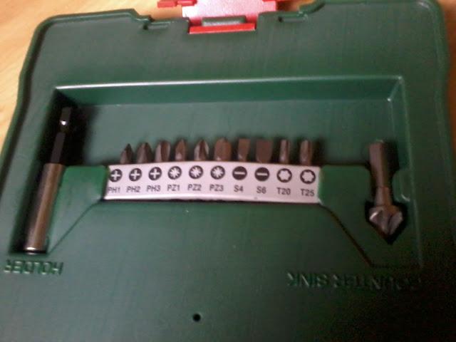 BOSCH X30 Ti Line, набор свёрел и бит, фото
