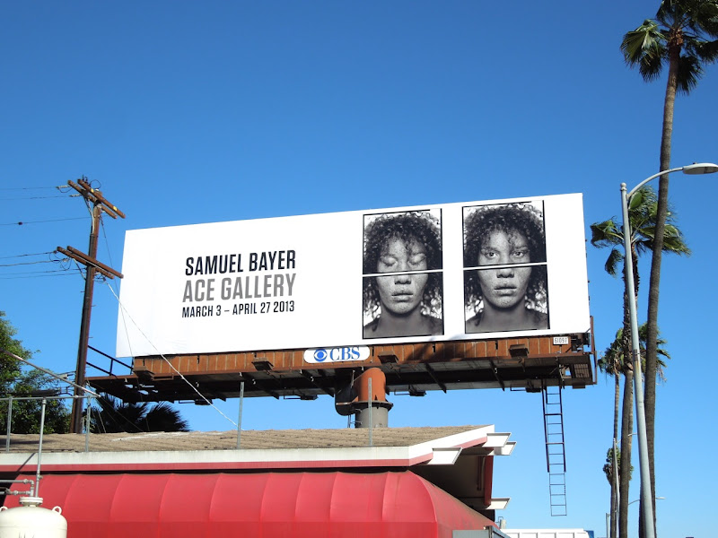 Samuel Bayer Ace Gallery billboard