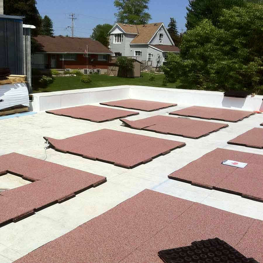 Greatmats specialty flooring mats and tiles roofing for Roof and floor