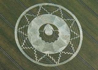 Mayan crop circle