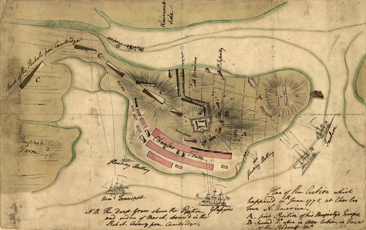account of the battle of bunker hill during the american revolution During the building of fortifications near bunker hill, american forces were  attacked by the british this resulted in the battle of bunker hill.