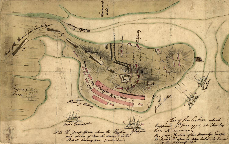 The American Revolution Battle Of Bunker Hill