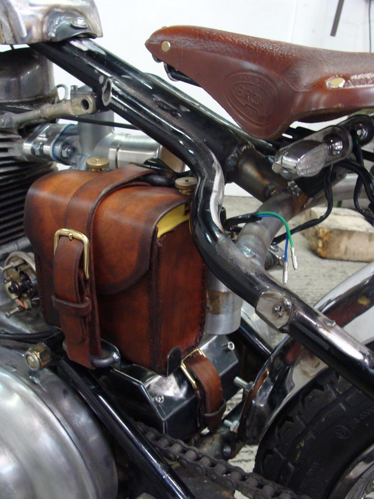 Suzuki Savage Custom Tool Bag Cover