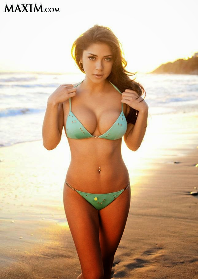 And Arianny Celeste on number 59.