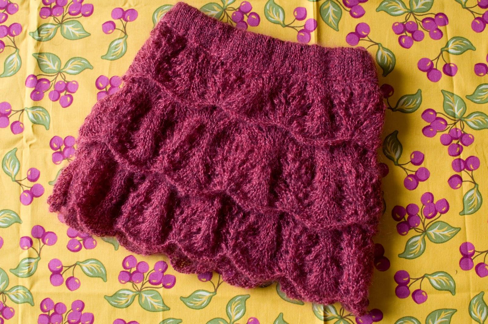 modèle jupe tricot 2 ans