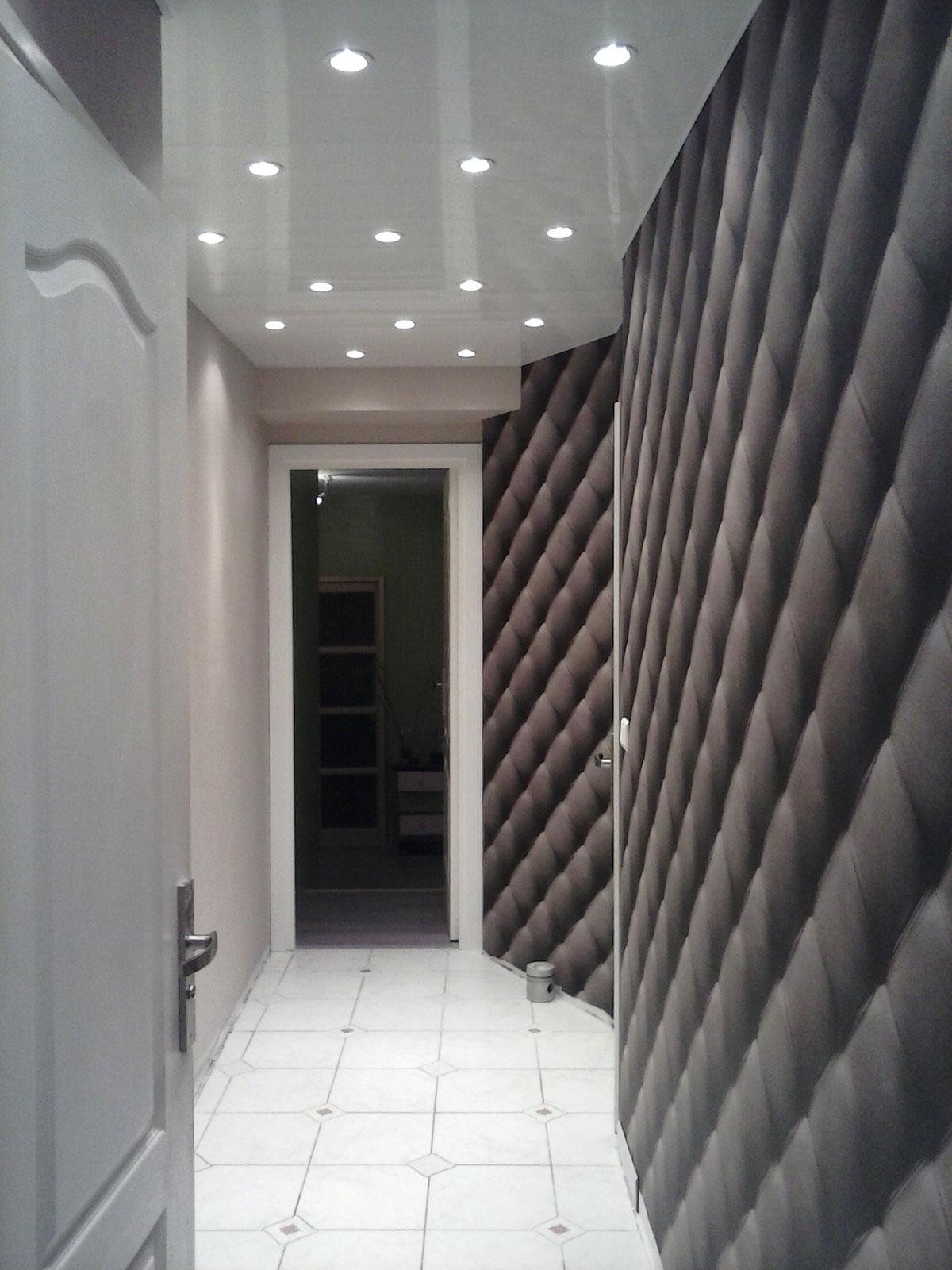 Couleur pour chambre sombre - Peindre un couloir en 2 couleurs ...