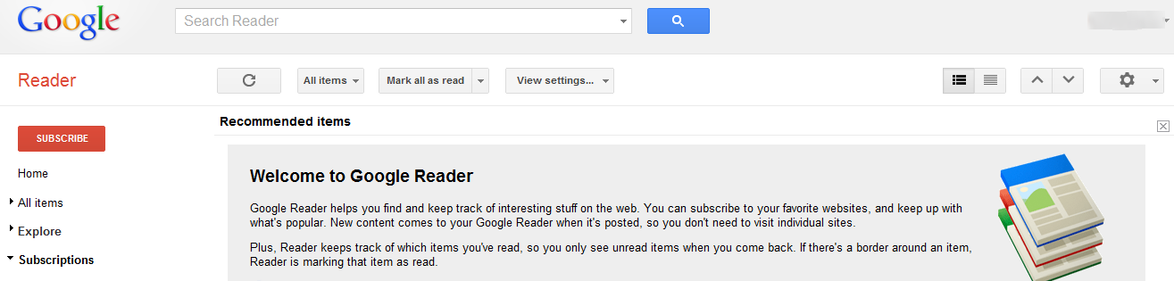 how to use google reader instructions and diagrams