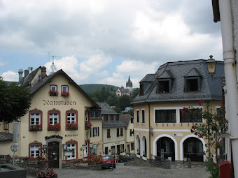 Medieval town center