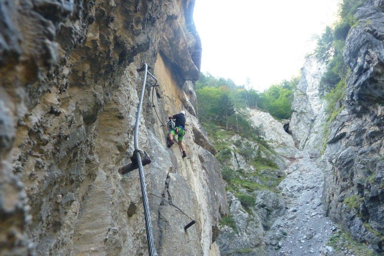 Klettersteig Lienz : Aufdiebergbinigern klettersteig galitzenklamm dopamin bei lienz
