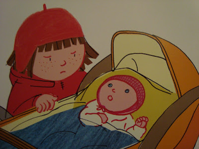 Basia i nowy braciszek, książka przygotowująca na nowe rodzeństwo,
