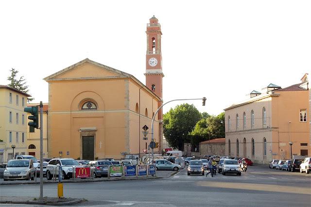 The church of Sant'Andrea, Livorno