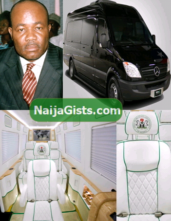 governor akpabio bulletproof vans